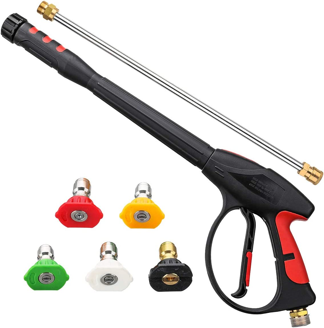 3000 PSI High Pressure Washer Gun for Pressure Power Washers w// Trigger Lock