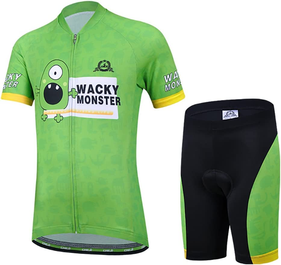 Free Fisher Unisex Bambino//Bambina Sportiva Maglia e Pantaloncino Shorts Ciclismo Bicicletta