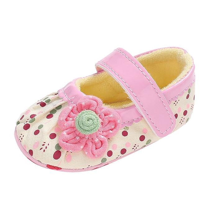 Zapatos de Bebé Sandalias de Flores Puntos Zapatos Suela Blanda Niña Verano Casual Diario❤️Lonshell: Amazon.es: Ropa y accesorios