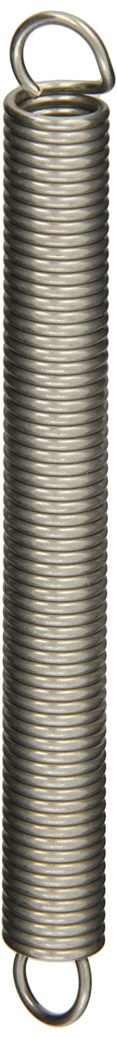 0.5 OD Inch 1.37 Free Length 316 Stainless Steel 9.83 lbs Load Capacity Pack of 10 25.99 lbs//in Spring Rate 1.69 Extended Length 0.063 Wire Size 0.5 OD 0.063 Wire Size 1.37 Free Length 1.69 Extended Length E05000631370X Extension Spring