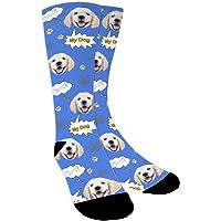 YanNanKe Calcetines Personalizados Foto,Personalizable Calcetines, Ponga fotos de perros, gatos y otras mascotas en…