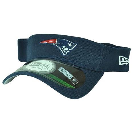 Amazon Com New England Patriots Navy New Era On Field Visor Hat