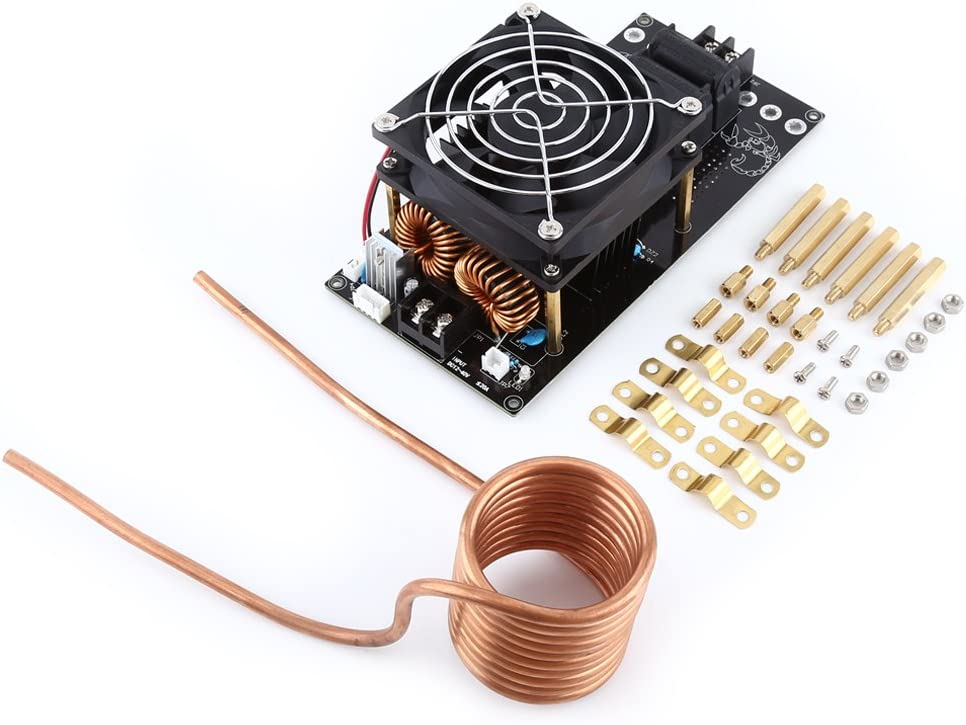 Yosoo DC12-36V 20A 1000W DIY ZVS Induction Heating Board Eletronic Supply Module Heater with Copper Tube