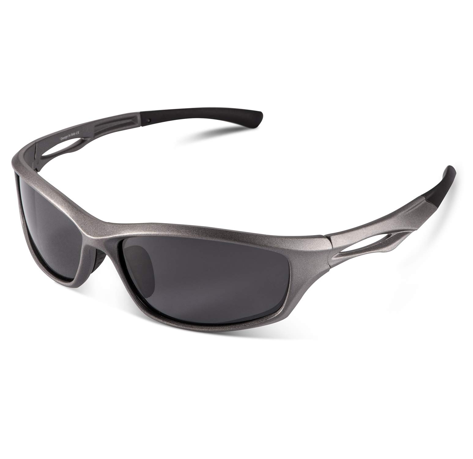 Carfia Polarized Sports Sunglasses for Cycling Fishing Running Driving UV400 Protection by Carfia