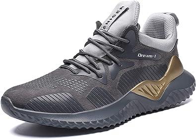 GJRRX Zapatillas Running para Hombre Aire Libre y Deporte Transpirables Casual Zapatos Gimnasio Correr Sneakers 39-46: Amazon.es: Zapatos y complementos