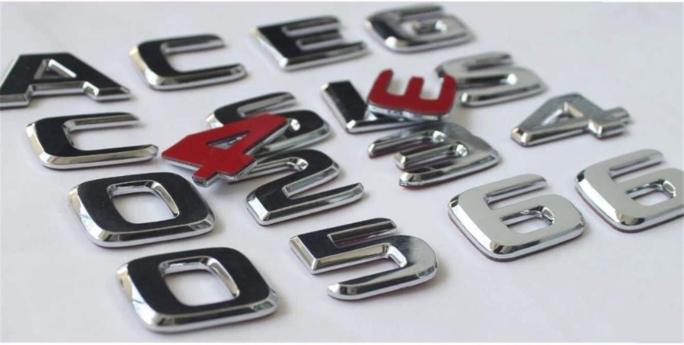 Badges chrom/és pour coffre de Benz A45 AMG