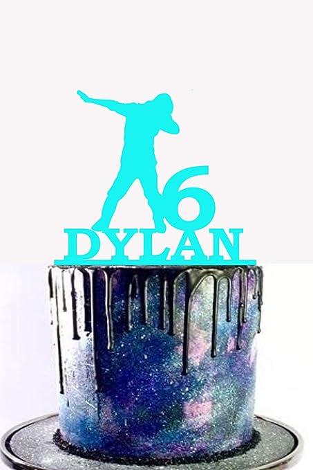 Decoración para tarta con diseño de dab, decoración para ...