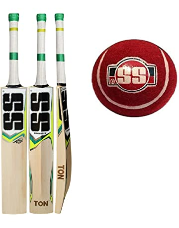 SS T20 STORM Cricket Bat with SS Tennis Cricket Ball (Bat Cover included) :