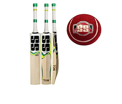 de57f839b9b Amazon.com   SS T20 STORM Cricket Bat with SS Tennis Cricket Ball (Bat  Cover included)   2019 Edition   Sports   Outdoors