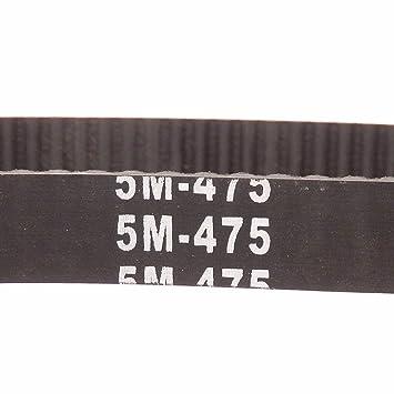 635-5m-25 25mm Wide HTD 5M 5mm PITCH timing belt CNC Robotics