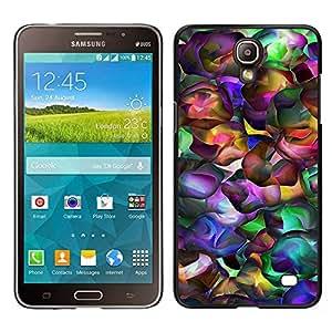 Design for Girls Plastic Cover Case FOR Samsung Galaxy Mega 2 Neon Colors Random Modern Art Wallpaper OBBA