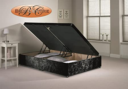 Wondrous Divan Ottoman Side Lift Storage Bed Single 46 Double 5Ft King Size Amazing 4Ft Small Double Black Pdpeps Interior Chair Design Pdpepsorg