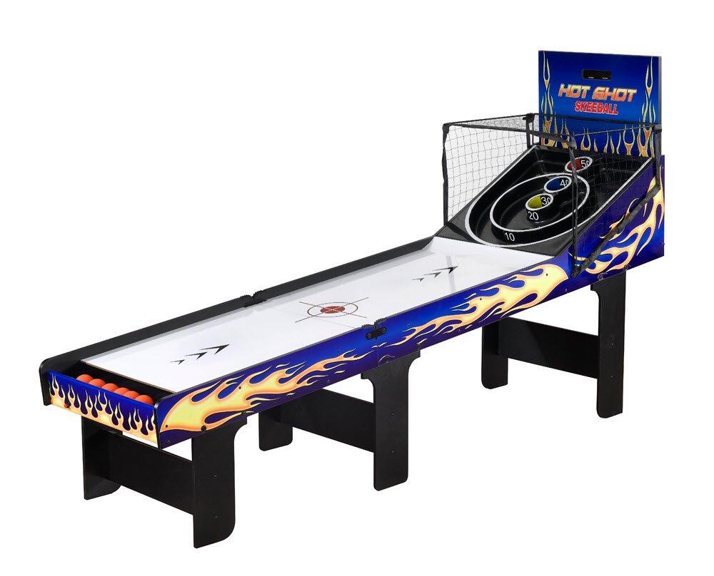 Folding Skeeball Table by SplashNet