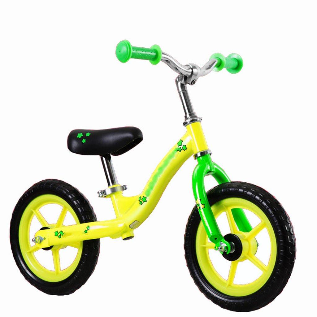 CGN子供の自転車、子供の赤ちゃんの子供は、車のバランスをカーブを歩くことを学ぶ車のおもちゃの車 soft B07C4T463R イエロー いえろ゜ イエロー いえろ゜