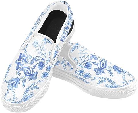 Amazon.com   Outdoor Canvas Shoes Blue