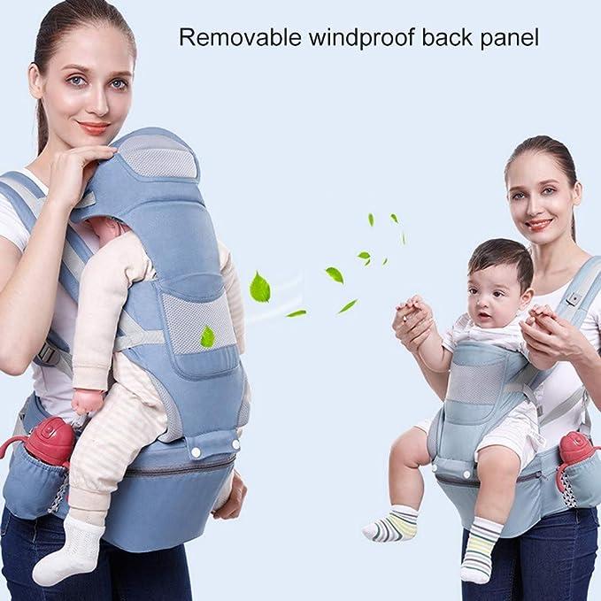 Amazon.com: MYRCLMY - Mochila portabebés para bebés de 0 a ...