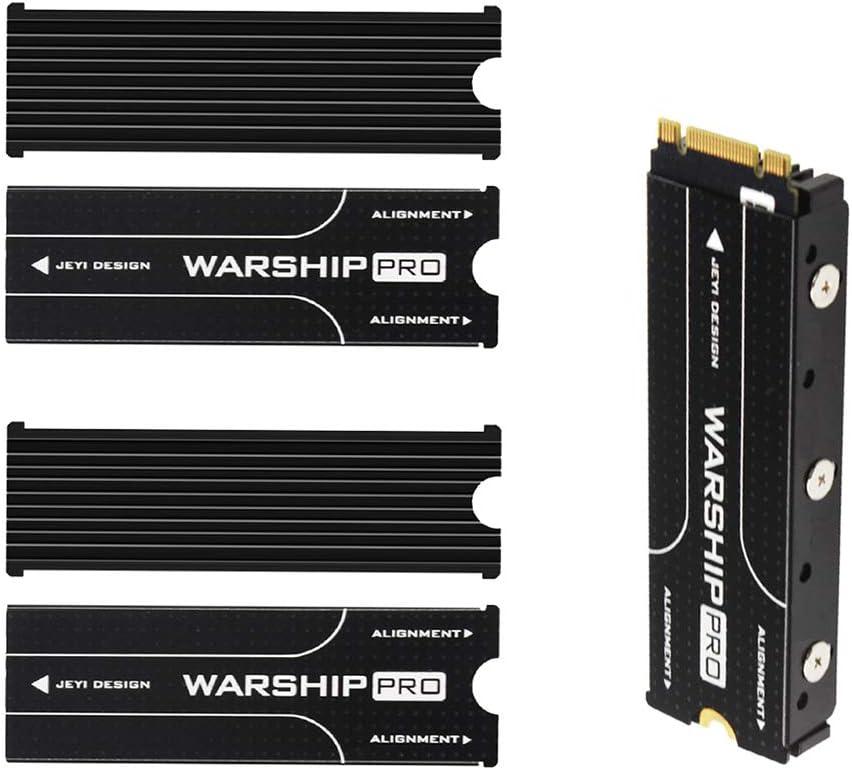 Gazechimp 2 Pieces Advancing Gene PCIe NVMe M.2 SSD Heatsinks Cooler with Thermal Pad