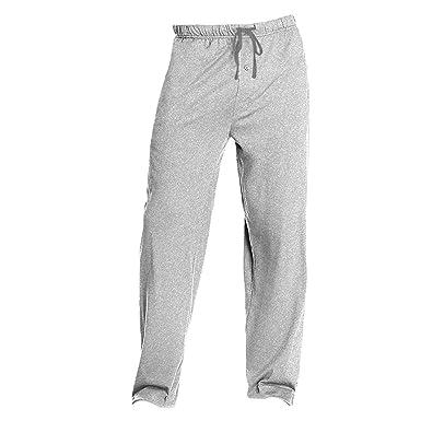 9369aa16ce Amazon.com: Hanes Men's Solid Knit Sleep Pant: Clothing