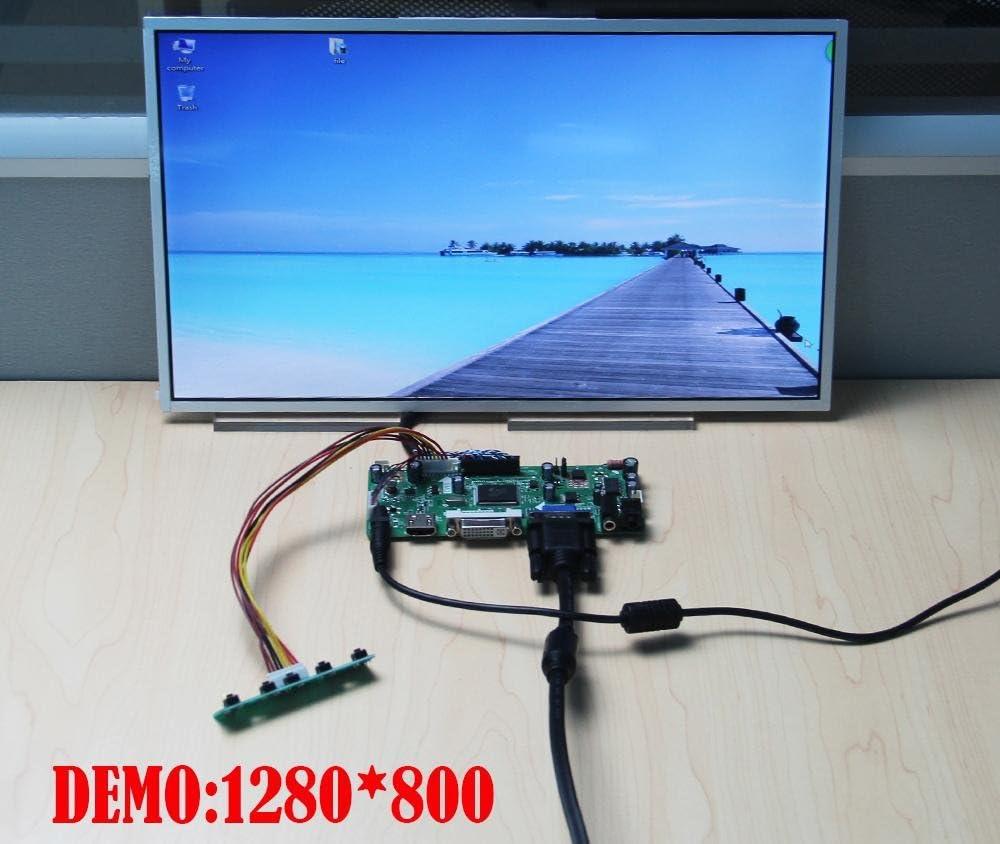 HDMI+DVI+VGA Controller Board Driver kit for LCD Panel B116XW03 V.2