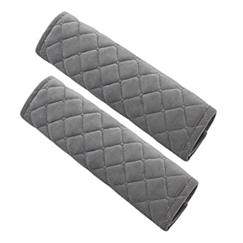 2-Pack Car Seat Belt Covers Seat Belt Pads Comfortable Strap Shoulder Pad