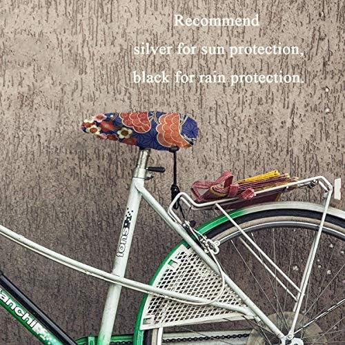 桜の花 自転車用シートカバー防水カバー自転車用シートカバージェルサドルカバー 防水サドルカバー自転車用シートカバーダストカバーuv 1枚セットナローシートとワイドシート日焼け防止uvプロテクションダストカバー