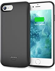 Swaller Battery Case for iPhone 6 Plus 6s Plus, Slim 5500mAh Portable Charger Case Extend 150% Battery Life, Protective Backup Charging Case Compatible with iPhone 6 Plus 6s Plus (5.5 inch)-Black