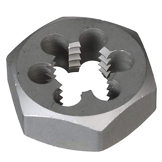 Drill America 5//8-18 Carbon Steel Hex Rethreading Die DWT Series