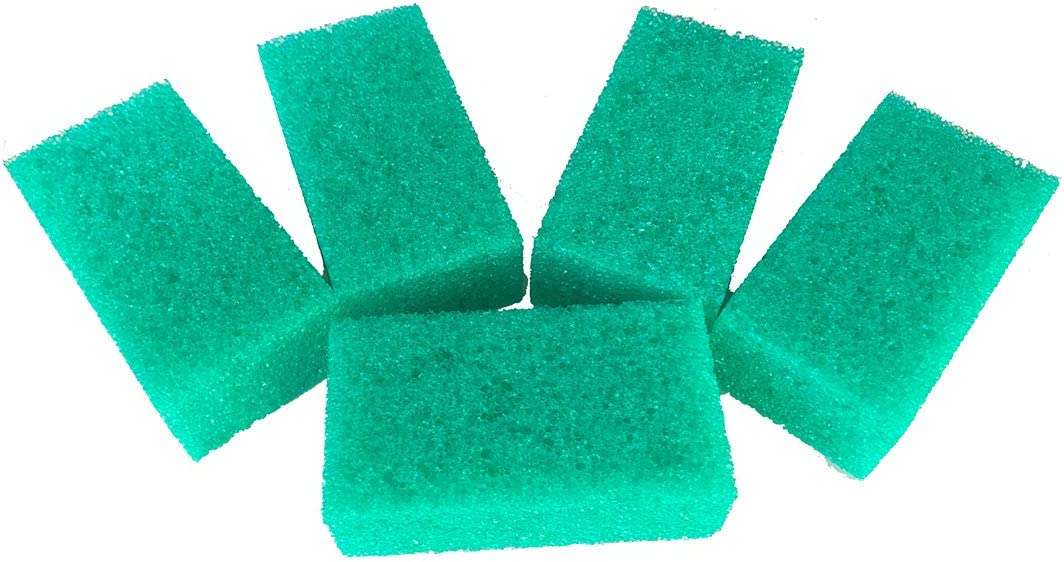 Insektenschwamm Fliegenschwamm Grün Set Mit 10 Stück Grösse 10 X 4 X 6 Cm Küche Haushalt