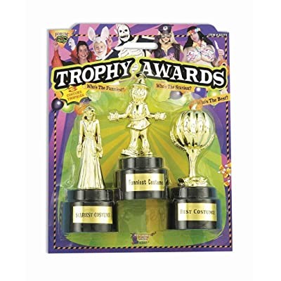 Forum Novelties Halloween Costume Trophy Awards, 3-Pack: Toys & Games