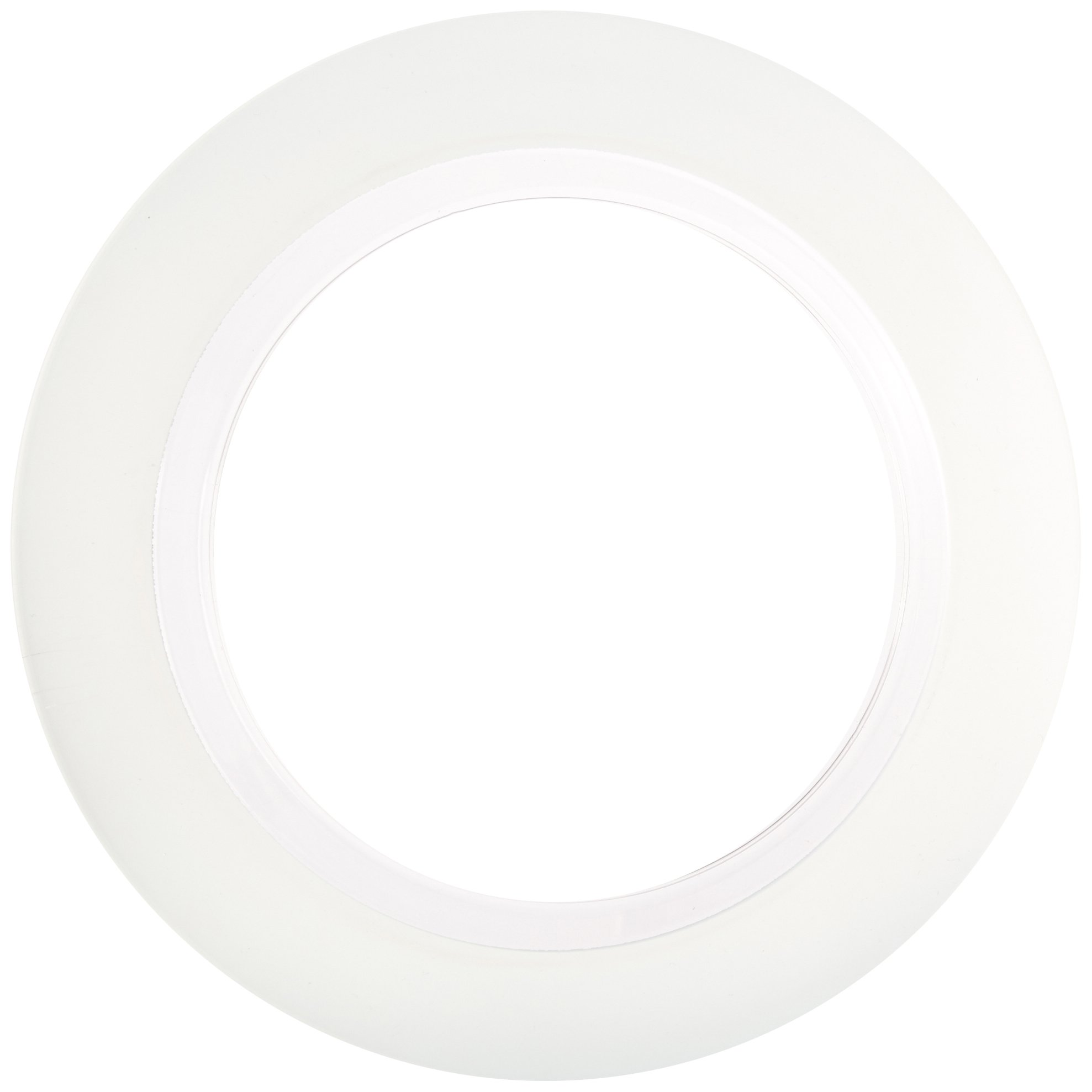 amscan Premium Plastic Plates | Clear, Silver | 10.5'' | Party Supply | 60 ct.