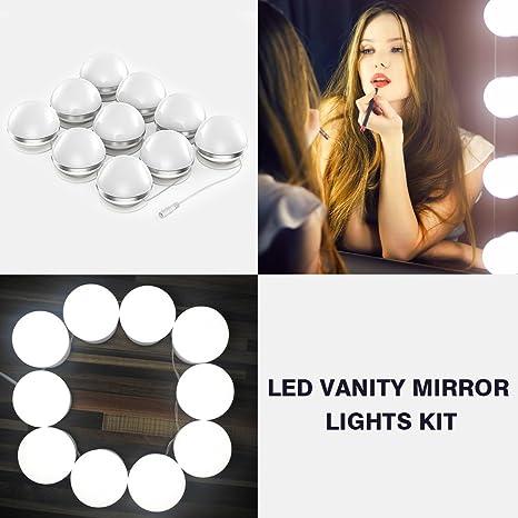 Review AMMON LED Vanity Mirror