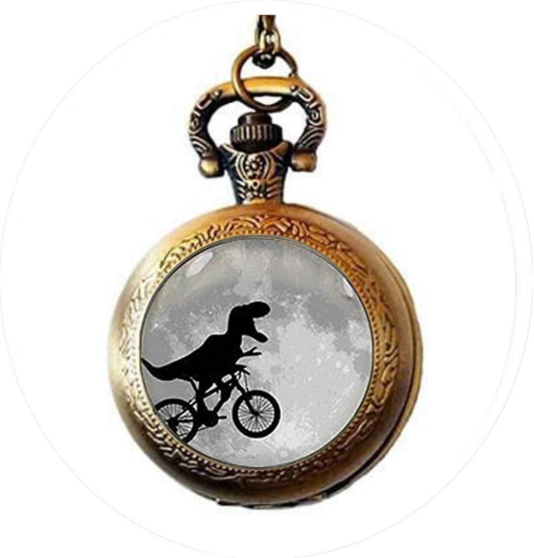 Llavero de dinosaurio en bicicleta, llavero de dinosaurio en ...