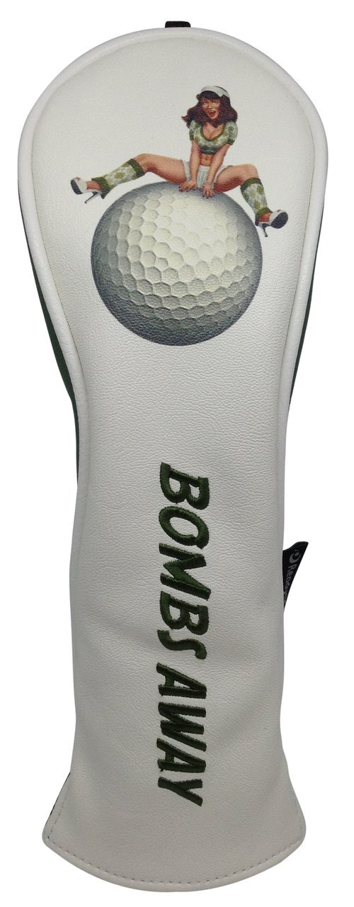 ReadyGolf - Fun Hybrid Headcover - Bombs Away Pinup