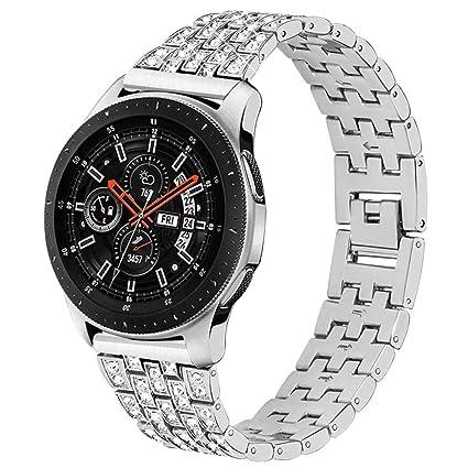 Amazon.com: Maxjoy - Correa de repuesto para reloj Galaxy ...