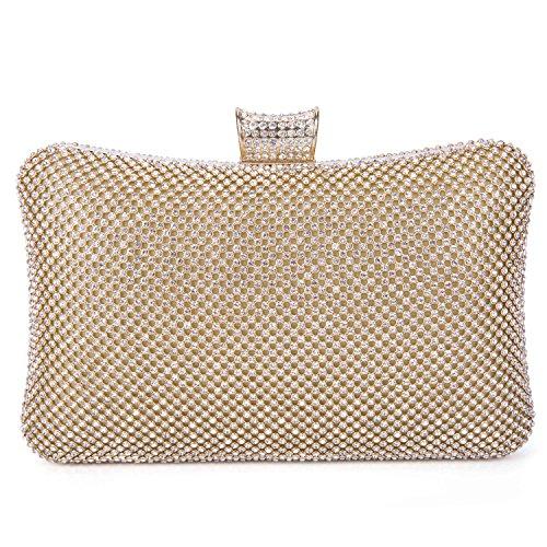 Gold Chain Handbag - 9