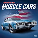 Image for American Muscle Cars 2021 12 x 12 Inch Monthly Square Wall Calendar with Foil Stamped Cover, USA Motor Ford Chevrolet…