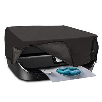 kwmobile Funda para HP OfficeJet 5230/5232 - Cubierta Protectora Antipolvo de Impresora - Forro Protector Gris Oscuro