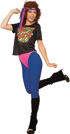 Forum Novelties - Disfraz de Diva de los años 80 para Mujer ...