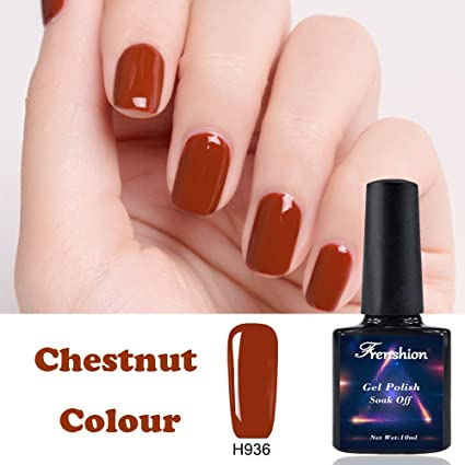 Frenshion 10ML Gel esmalte de uñas semi permanente empapa de UV LED Kit de manicura esmalte