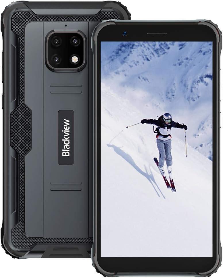 Móvil Resistente, Blackview BV4900 Pro Android 10 IP68 Impermeable Smartphone 4G, 5.7