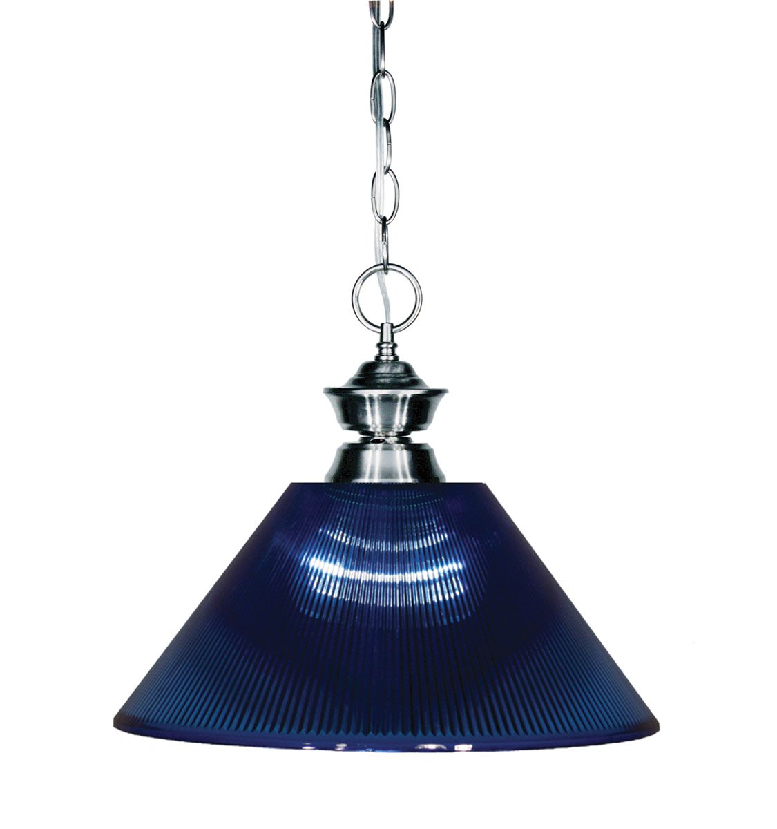 Island Lighting 1 Light With Gun Metal Finish Steel Medium Base Bulb 14 inch 60 Watts