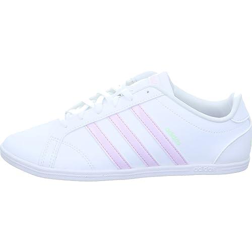 adidas Coneo QT, Chaussures de Fitness Femme, Blanc (Ftwbla/Plamat/Ftwbla 000), 44 EU