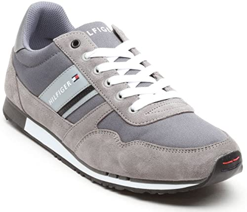 Tommy Hilfiger Men's Trainers Grey Size