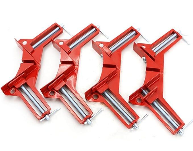 3 opinioni per 4pezzi di morsetti in lega di zinco ad angolo retto di 90 gradi, per angoli di