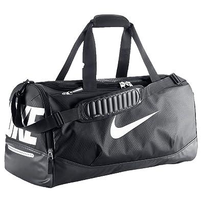Nike Bolsa de viaje de Lona Hombre Negro Negro M: Amazon.es ...