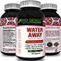 Diuretic Water Pills All Natural Dietary Supplement with Vitamin B-6 Potassium Chloride Dandelion Root Green Tea Leaf Best for Weight Loss Reduce Bloating Extra Energy for Men & Women by Bio Sense