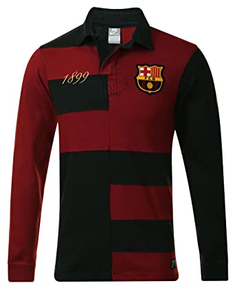 Nike para Hombre GF Barca Rugby Polo de Manga Larga Jersey Top ... 7d2c6d0212c