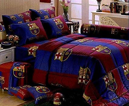 Genial Barcelona Football Club Bedding In Bag Set (King Size, BC002); 1 Four