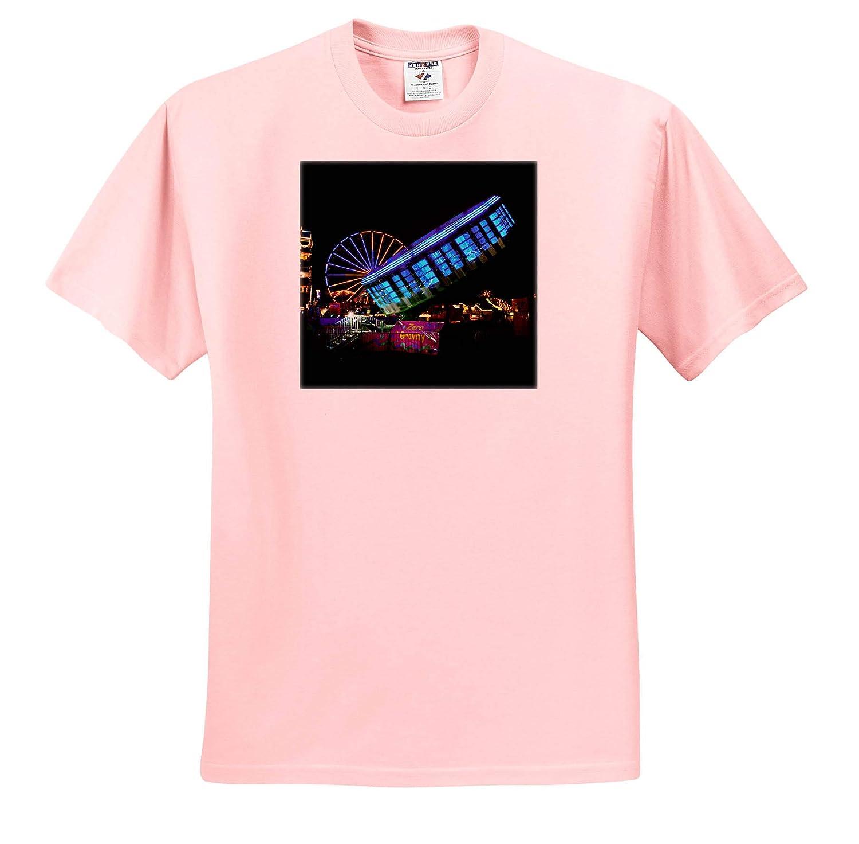T-Shirts fair Midway carvinal Rides gravitron Zero Gravity 3dRose Susans Zoo Crew Scenery