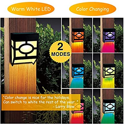 Solar Fence Lights
